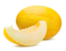 Fresh Melon Isolated On White ...