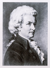 Portrait Of Wolfgang Amadeus M...