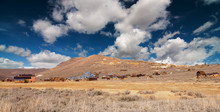 Panoramic Abandoned Old Wild W...