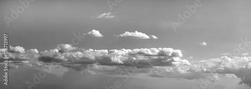 Türaufkleber UFO sky, cloud