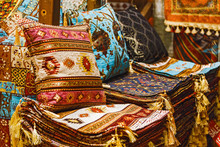 Many Colorful Carpets And Carp...