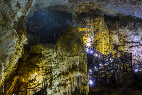 Entrance to the Phong Nha Cave in Vietnam
