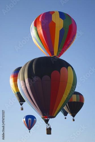 Plakat Balony na gorące powietrze