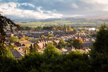 Penrith Town In Cumbria, England