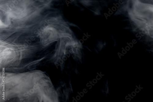Fototapeta Biały pali z czarnym tłem