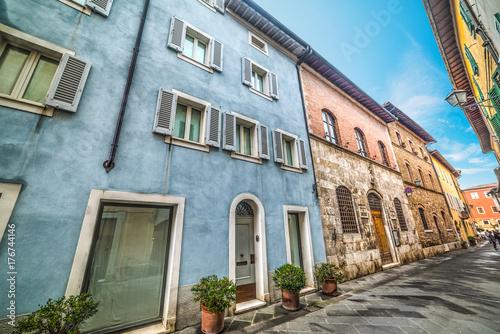 Zdjęcie XXL Wąska ulica w San Quirico d'Orcia