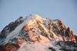 Atardecer en Chamonix