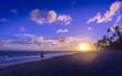 Sonnenaufgang am Bavaro Strand Dominikanische Republik-13