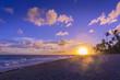 Sonnenaufgang am Bavaro Strand Dominikanische Republik-14