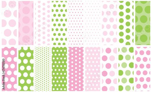 Photo  18 Polka Dots Vector Patterns