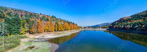 Lac de la Lauch, a lake in the Vosges mountains - Haut-Rhin, France