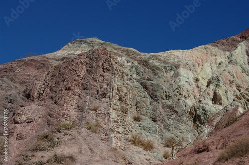 Papiers peints Cappuccino Formations géologiques dans le Nord-Ouest argentin - 7