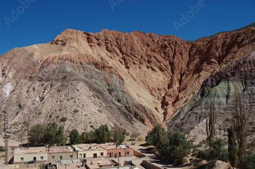 Plakat Formacje geologiczne na północnym zachodzie Argentyny - 5
