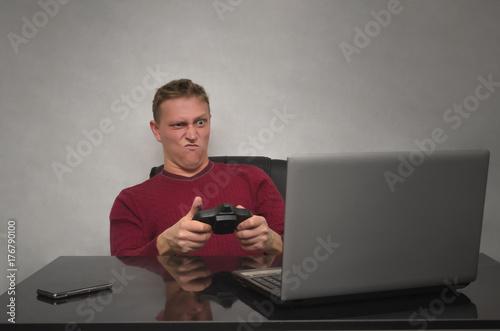 Photo  Emotinal gamer