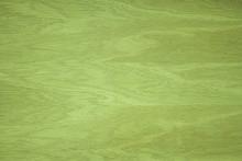 The Texture Of The Wood. Oak Veneer. Green Color