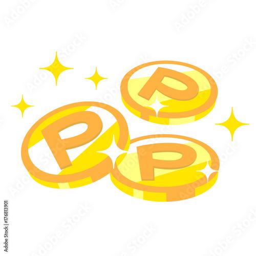 ポイントコイン 三枚