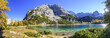 canvas print picture - herrlicher Bergsee in den Tiroler Alpen