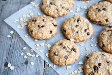 Homemade Oatmeal Cookies With ...