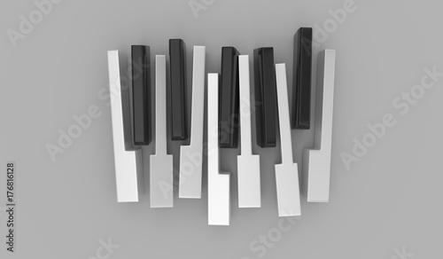 klawisze-pianina-na-szarym-tle