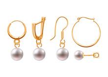 Realistic Earrings Jewelry Acc...