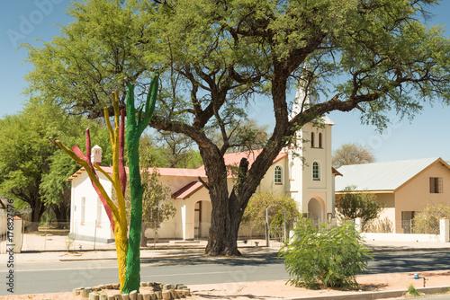 Poster  Kirche St. Bonifatius in Omaruru, Erongo, Namibia