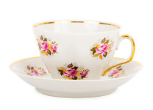 One Teacup With Saucer