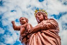 La Statue Notre-Dame De France...