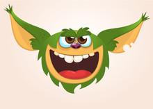 Cartoon Cute Monster. Vector I...