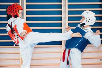 Taekwondo Kids Sparring