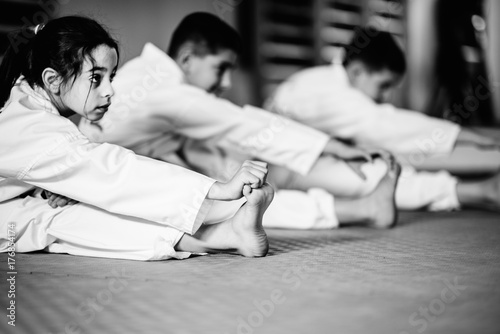 Foto op Aluminium Vechtsport Martial Arts Training Class For Children