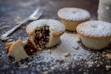Close Up Of Mince Pies