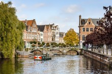 A View Of The Belgian City, Lier