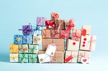 Collection Of Christmas Presen...