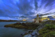 Bandon Lighthouse Sunset