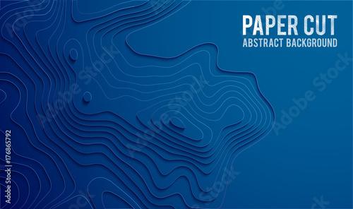 Fotografie, Obraz  Paper cut banner concept