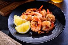 Skillet Roasted Jumbo Shrimp O...