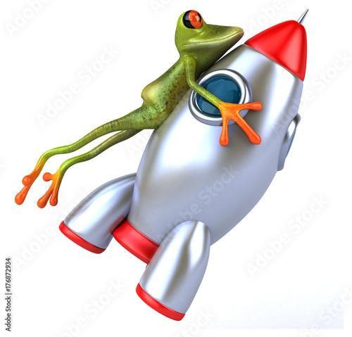 Photo Fun frog