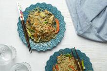 Korean Stir Fried Noodles