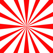 Japan Red Sun Wallpaper Background Vector Illustration.Retro Ray Background.