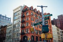 Intersection In Manhattan