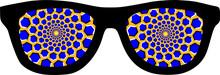Hypnotic Glasses Optical Illus...