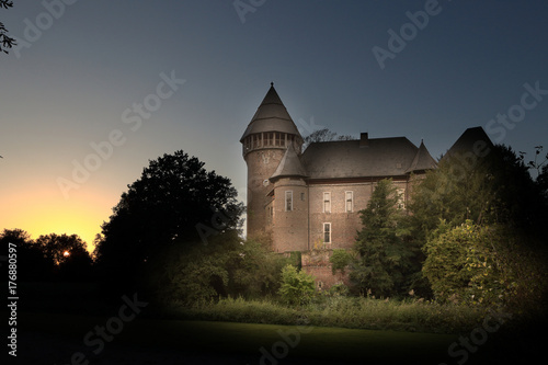 Fototapeta Zamek Linn koło Krefeld