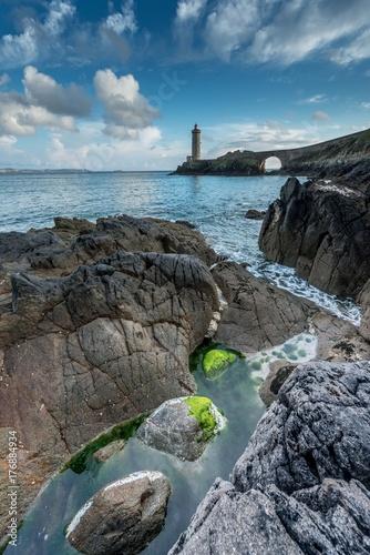 Zdjęcie XXL latarnia morska kotka w Bretanii