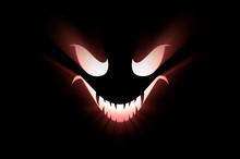 3D Illustration Of Monster Fac...