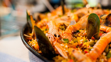 Portugese Seafood Paella