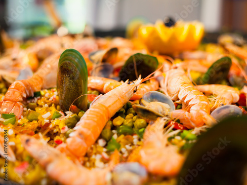Seafood Rice
