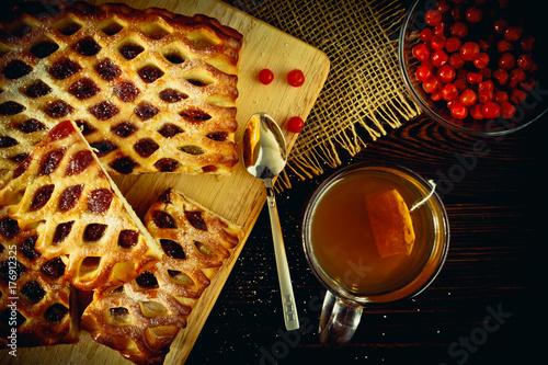 Plakat Ciasto jagodowe