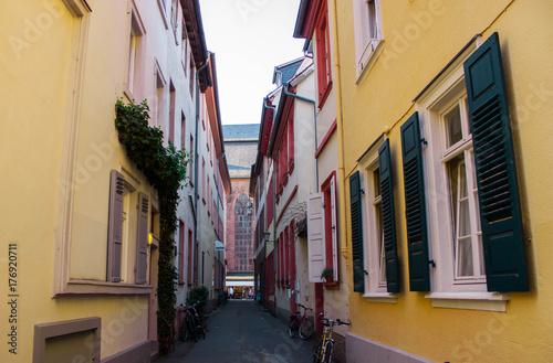 Foto op Plexiglas Cyprus Colorfull buildings in old town in Germany