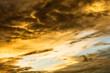 Beautiful sky and rain clouds