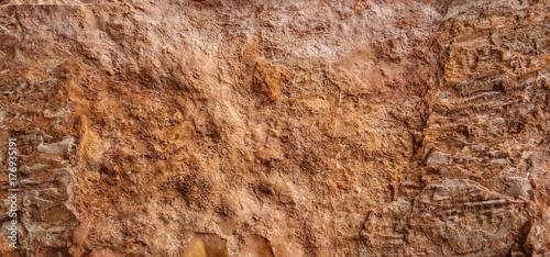Photo  stone background, sand wall pattern texture